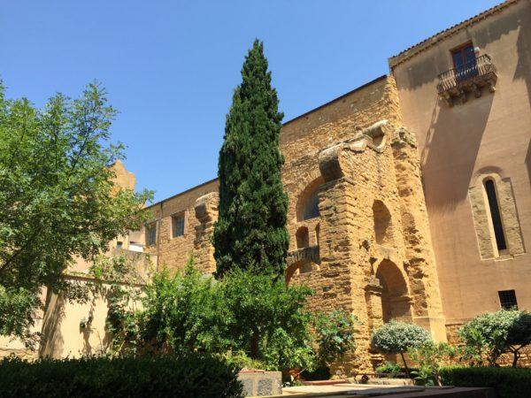 Il chiostro del Monastero di Santo Spirito ad Agrigento