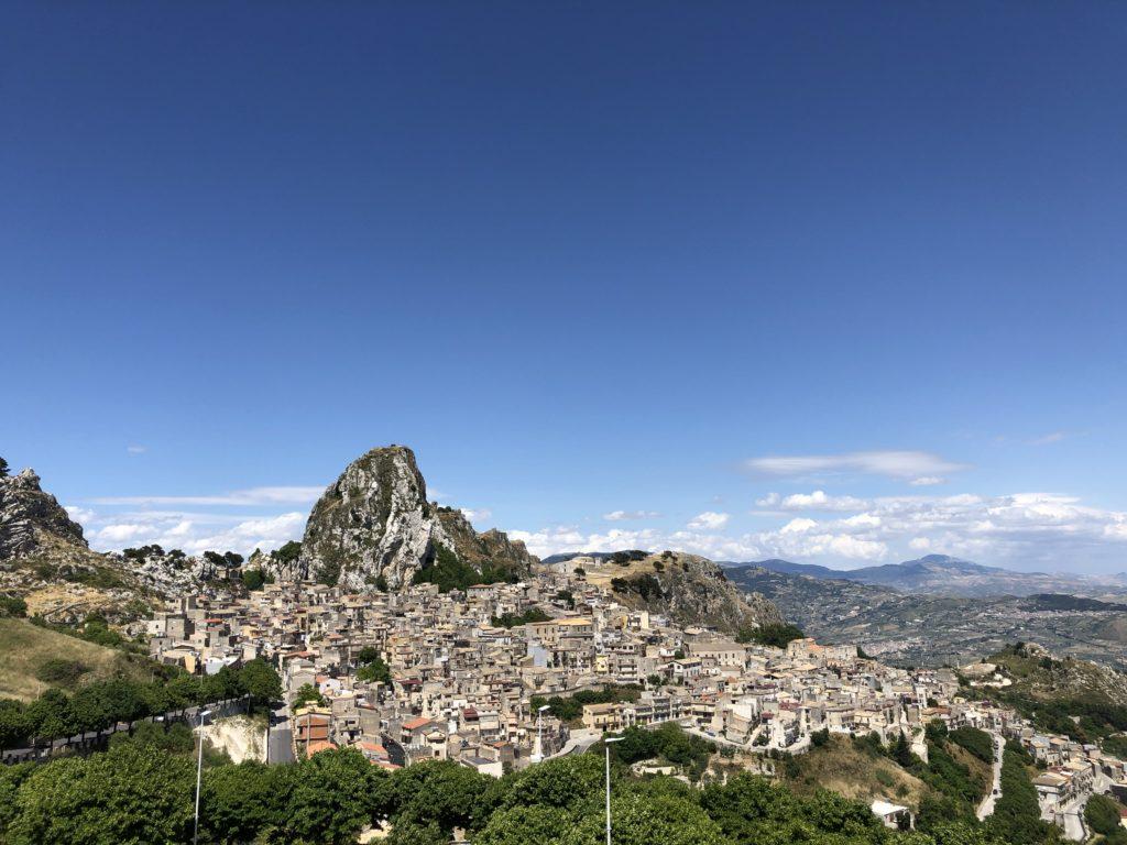 Caltabellotta - Veduta generale del paese