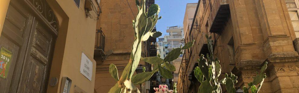 Scorcio del centro storico di Agrigento