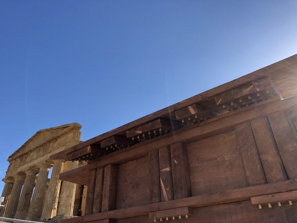 I templi di Agrigento - origine dell'ordine dorico dal tempio ligneo