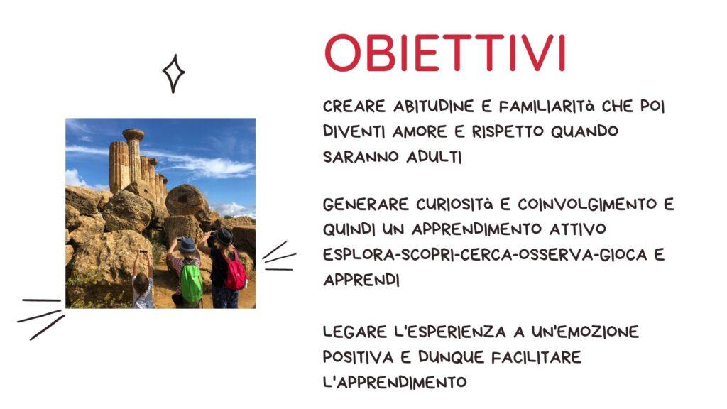 Famiglie con bambini e beni culturali - obiettivi