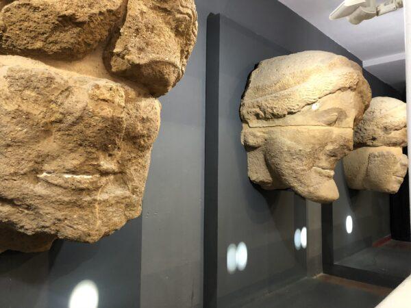 I telamoni del Museo di Agrigento